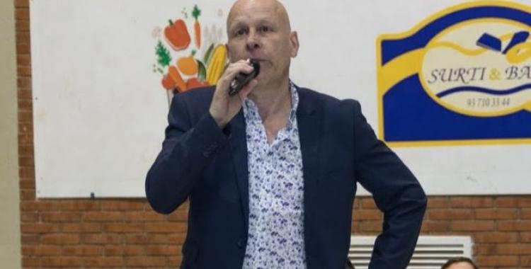 Salvador Gomis, president de l'OAR Gràcia   OAR Gràcia