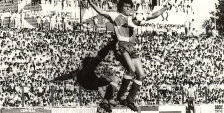Imatge del partit de l'ascens contra l'Atlético Madrileño | Cedida