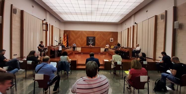 Esquerra, la Crida i Ciutadans critiquen que la majoria de propostes ja estan pressupostades | Cedida