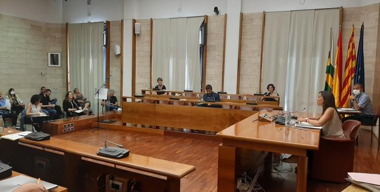 El Ple de juliol ha estat farcit de mocions dels grups municipals   Cedida