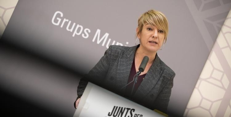 Lourdes Ciuró, portaveu de Junts per Sabadell   Roger Benet