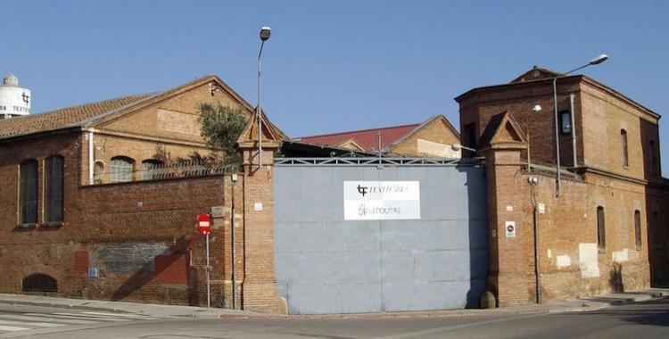 Adjudicada la redacció del projecte de transformació de la fàbrica Sallarès i Deu en un Centre d'Innovació Social i Tecnològic   Cedida