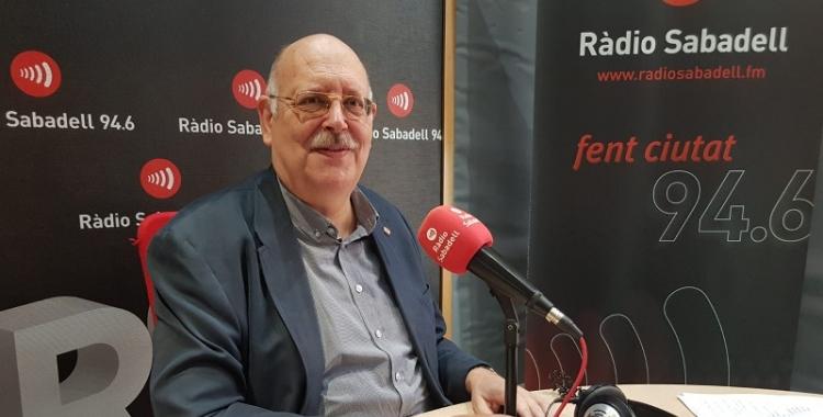 El sabadellenc, Josep Masip, ha estat dues dècades president de la Creu Roja de Sabadell