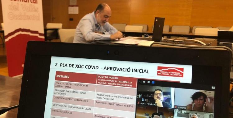 El Consell Comarcal ha aprovat 24 mesures per reactivar l'economia industrial | Cedida
