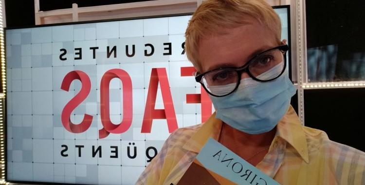 Anna Grau amb 'Girona' al FAQS de TV3 | Cedida