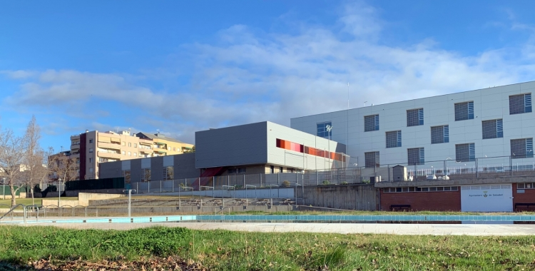 Imatge de la piscina de Ca n'Oriac, a la ronda Navacerrada   Cedida