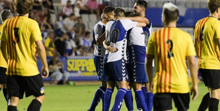 Sabadell i Sant Andreu ja van jugar a la Nova Creu Alta un amistós l'estiu passat   Roger Benet