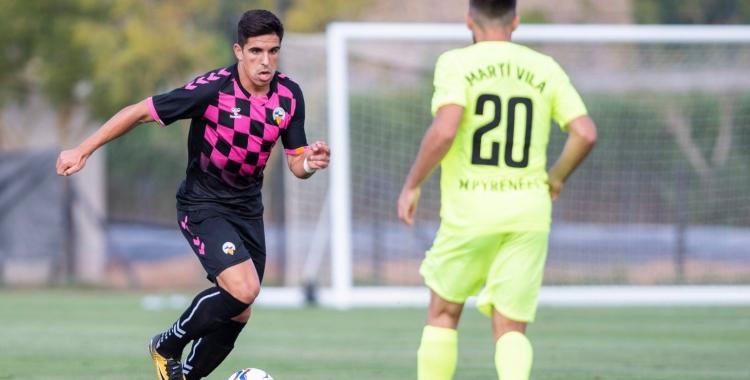 Víctor García s'ha estrenat avui amb la samarreta del Centre d'Esports   Marc González Alomà - CES