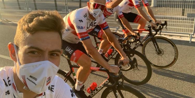 De la Cruz ahir durant la presentació del Tour a Niça | @iamdlax