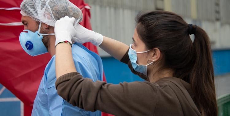 Salut farà 4.000 PCR al sud de Sabadell i a La Creu de Barberà fins el diumenge | Roger Benet