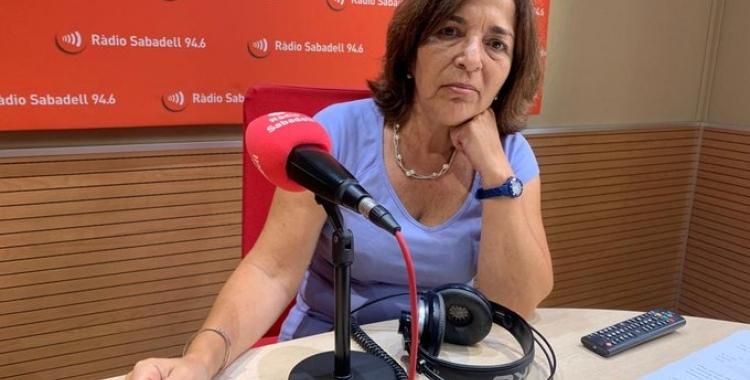 Mercè Calvet, en una imatge d'arxiu/ Ràdio Sabadell
