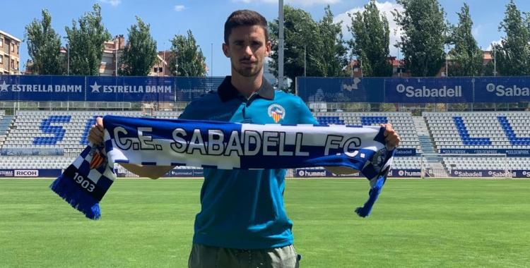 Jaime Sánchez ja és a la ciutat | CE Sabadell