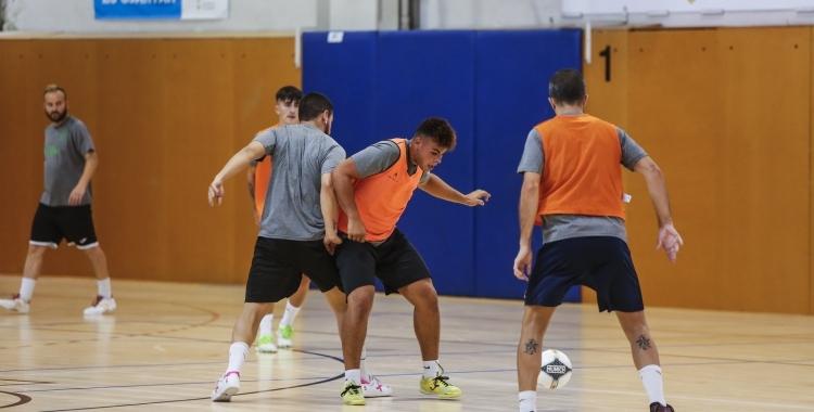 Entrenament de l'Amics del Pou Nou Escorial previ al playoff | FCF