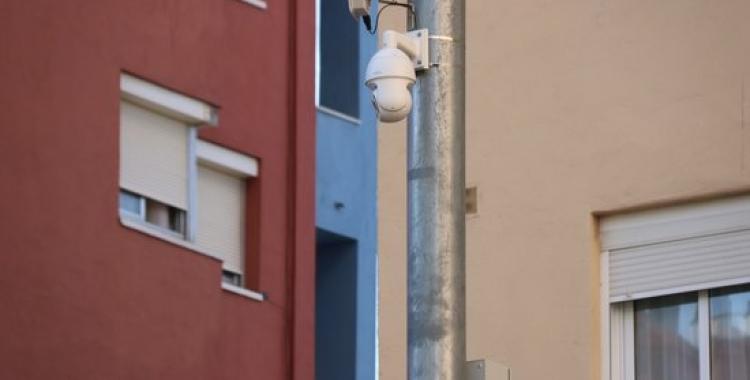 Càmeres instal·lades a la zona de Can Deu | ACN