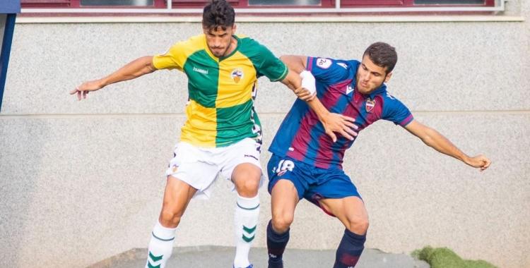 Néstor Querol ha marcat vuit gols aquesta passada temporada   Cedida