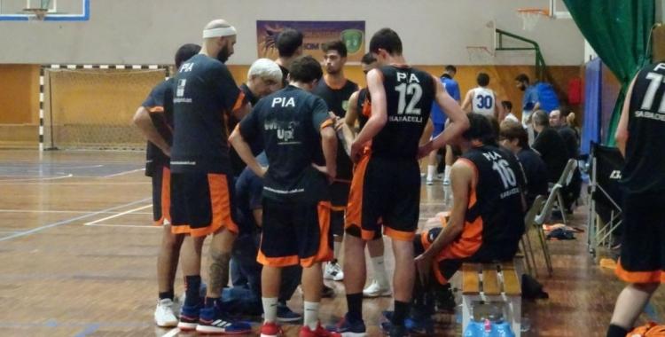 Imatge del Bàsquet Pia-AESE de la temporada passada | Sergi Park