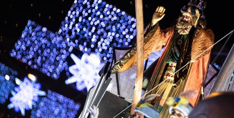 Imatge de l'última Cavalcada de Reis a Sabadell | Roger Benet