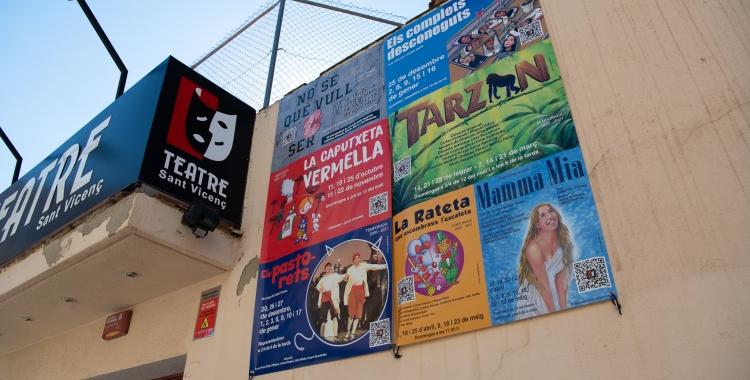 El Teatre Sant Vicenç ha programat set obres per aquesta temporada 2020-2021 | Roger Benet