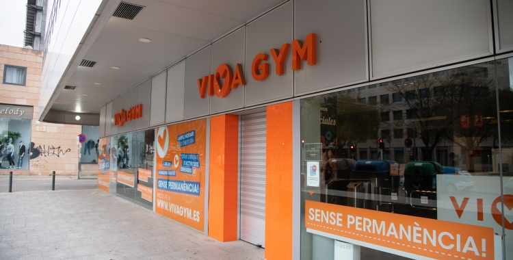 El gimnàs VivaGym, tancat durant l'estat d'alarma | Roger Benet