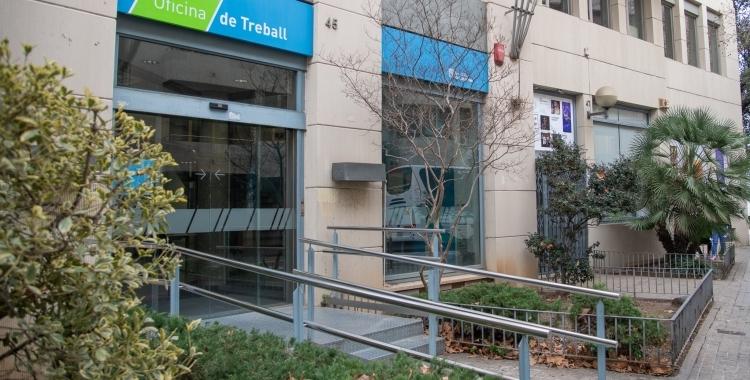 Imatge d'una de les oficines d'ocupació de Sabadell | Roger Benet