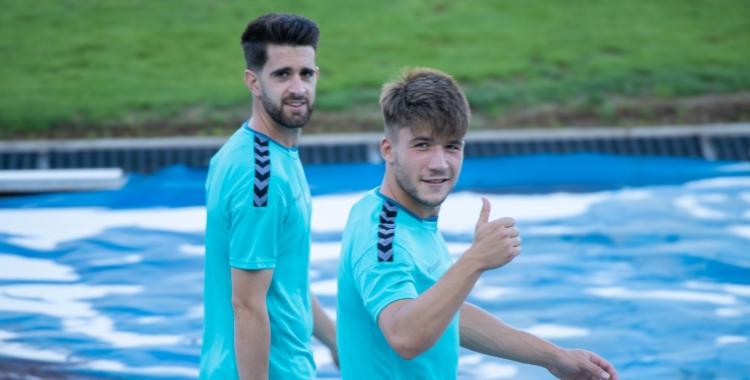 'Boni' i Aarón podrien fer el seu debut a la Lliga SmartBank | Roger Benet