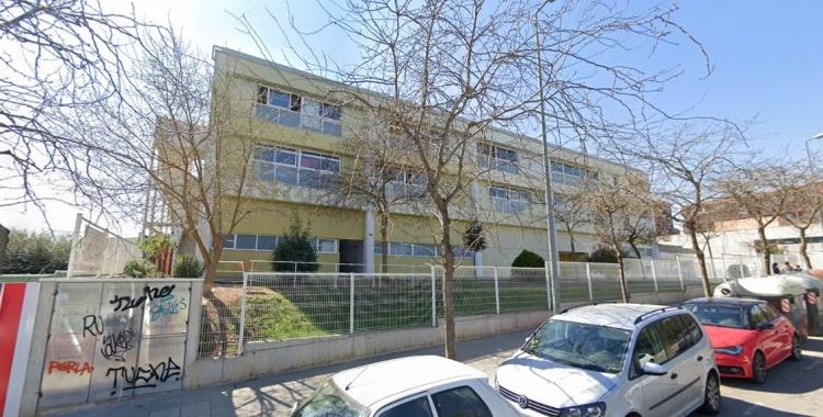 Exterior de l'institut Arraona, on s'ha detectat l'últim cas | Google Maps