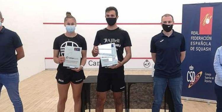 Pajares es va endur el títol a València | Squash.cat