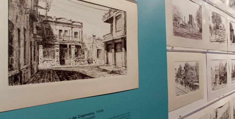 La mostra inclou més de 300 obres de l'artista sabadellenc   Helena Molist