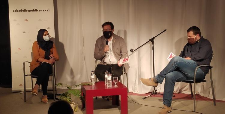 D'esquerra a dreta, NajatDriouech, Juli Fernández i Marc Sanglas   Pau Duran