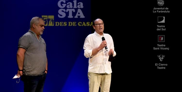 Salva Peig i Jordi Cascales a la gal·la | Josep Ubia