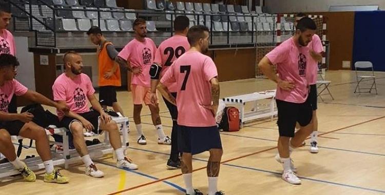El Nou Escorial haurà de readaptar els plans inicials per entrenar-se | AP Nou Escorial