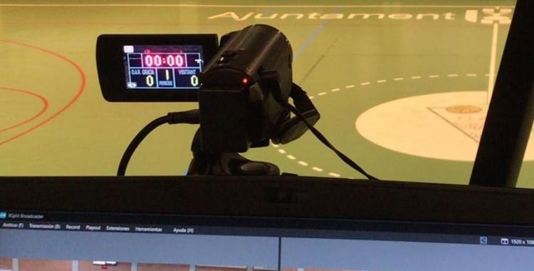 Les càmeres estaran presents en els partits de l'OAR | OAR Gràcia