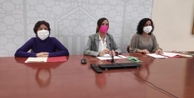 D'esquerra a dreta, Marta Morell, Marta Farrés i Montse González | Cedida