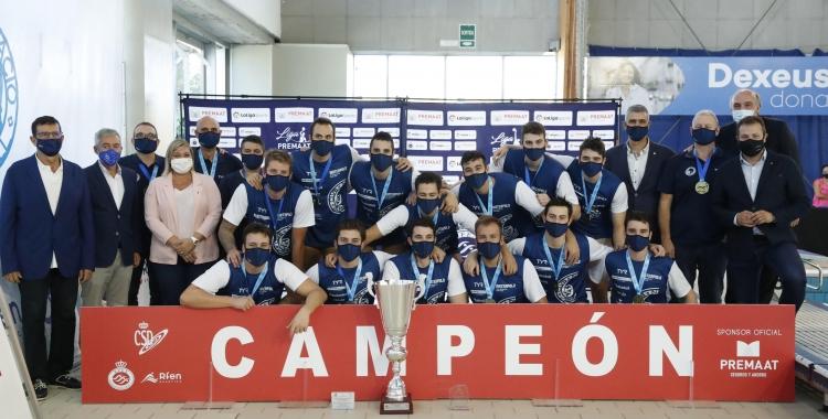 L'últim partit jugat per l'Astralpool masculí va ser la final de la Supercopa   RFEN