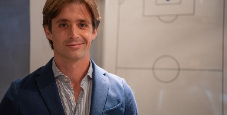 Jose Manzanera en un dels despatxos de l'estadi de la Nova Creu Alta | Roger Benet