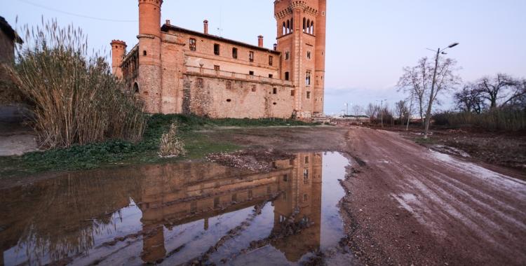 Exterior del Castell de Can Feu/ Roger Benet