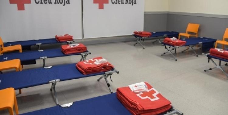 Un alberg de Creu Roja | Arxiu