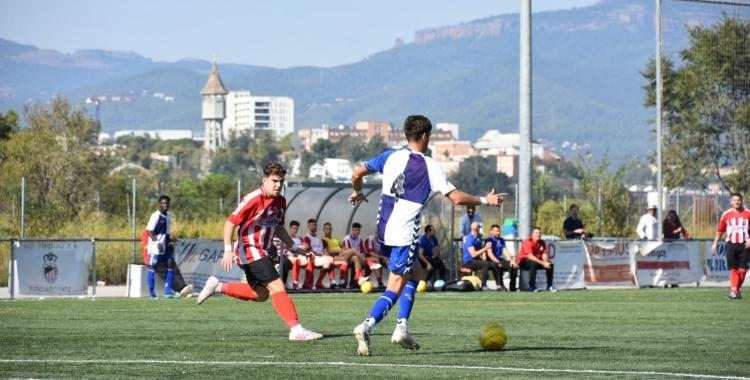 Imatge del Tibidabo-Sabadell 'B' de la temporada passada | Críspulo Díaz