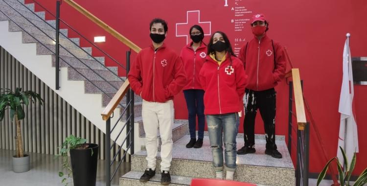 Una desena d'advertits en la primera nit de sensibilització de Creu Roja   Cedida