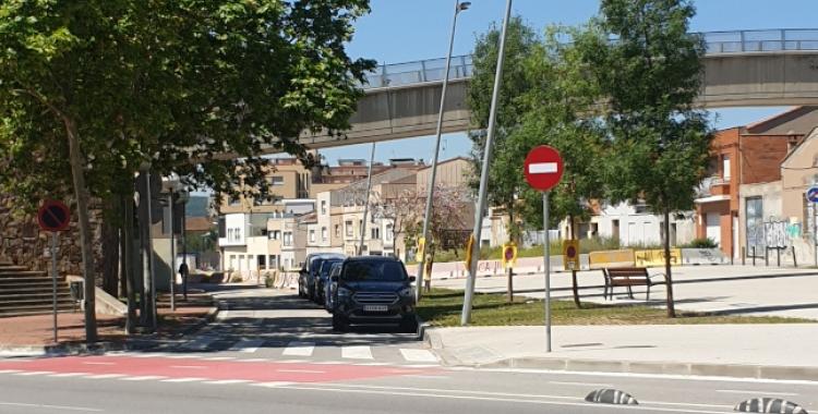 Carril bici que ha d'unir Sabadell i Sant Quirze   Cedida