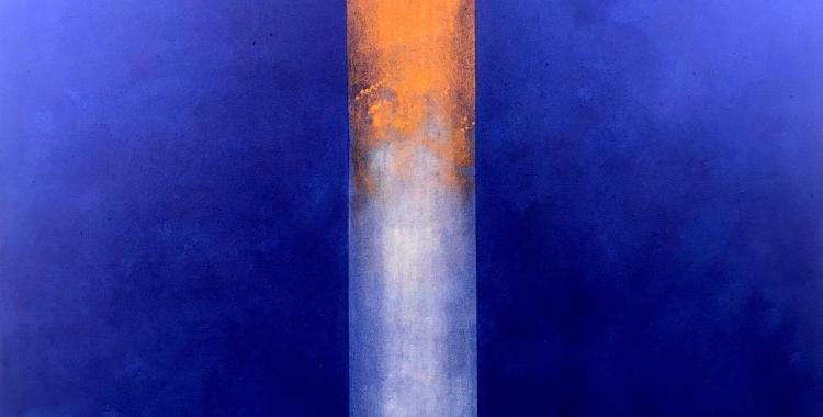 Una de les obres d'Alfons Borrell/ Cedida