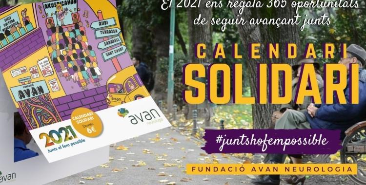 L'Associació Vallesana d'Amics de la Neurologia (AVAN) ha començat la campanya per vendre 5.000 unitats del calendari solidari | AVAN