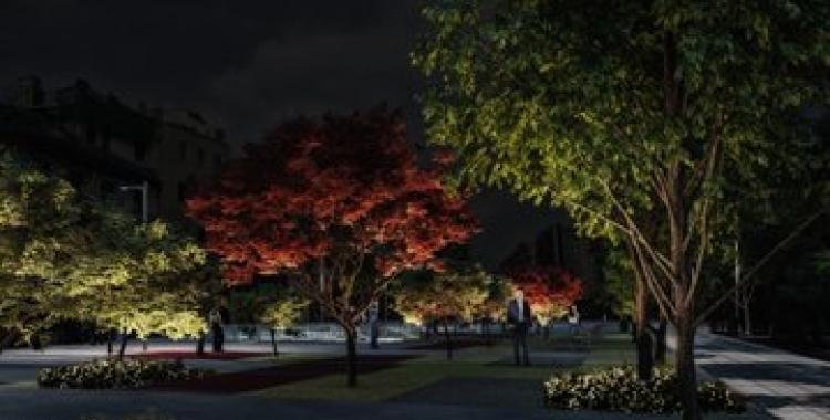 Imatge del projecte sobre com seran els arbres del futur Passeig