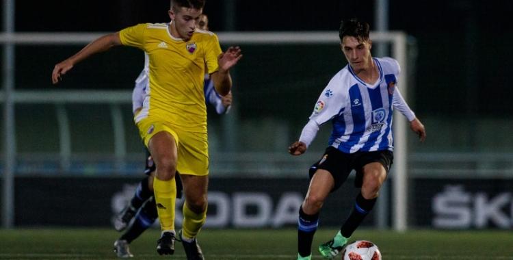 El Mercantil es va imposar al camp d'uns dels rivals més forts del subgrup, l'Espanyol 'B' | RCD Espanyol