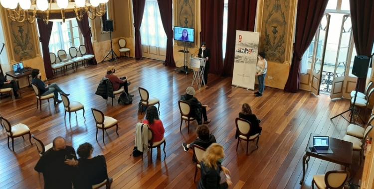 El Principal, durant la programació dels actes en record a la Guerra dels Balcans/ Ajuntament de Sabadell