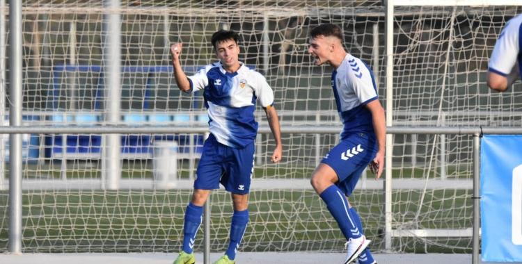 Víctor Lamela va anotar el gol de la primer victòria arlequinada   @FutBaseCES