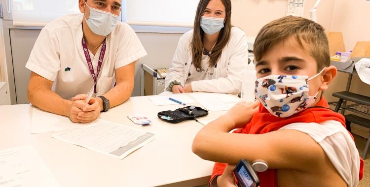 El 93% dels pacients pediàtrics de Diabetis 1 ja compten amb un sensor de glucèmia 24 hores o d'una bomba associada | Cedida