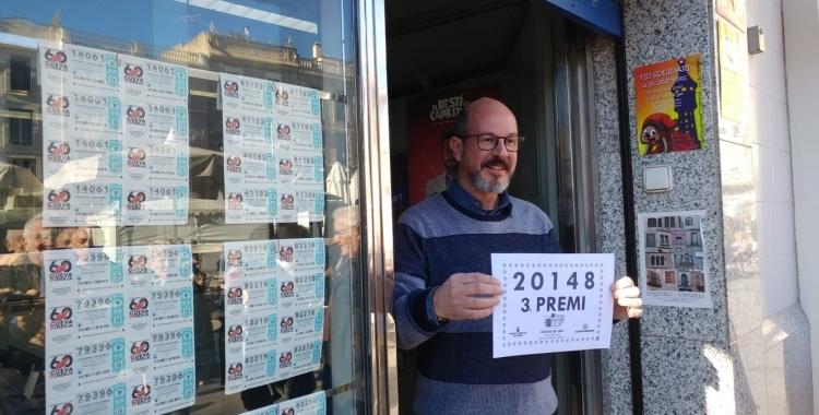 Falta un mes per al sorteig de la Grossa de Nadal   Roger Benet