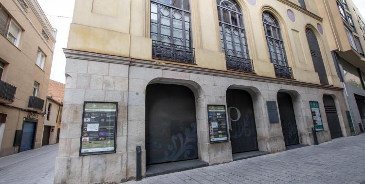 El Teatre Principal, un dels equipaments afectats pel tancament | Roger Benet