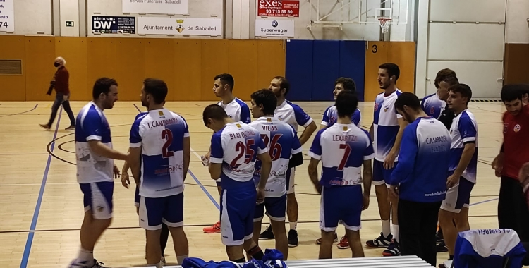 El colapse en atac a la segona part, va passar factura a l'equip arlequinat   Sergi Park